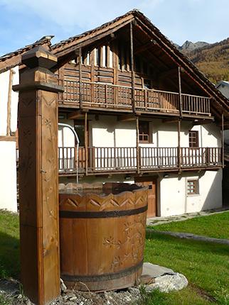 Ente di gestione dei parchi delle alpi cozie casa degli for Planimetrie delle case dei produttori di storia